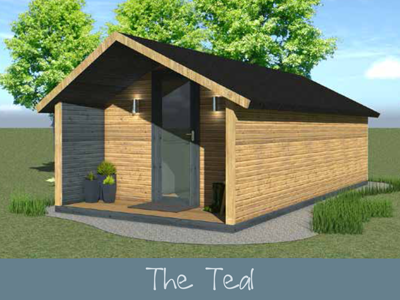The Teal (Low) Glamping Pod