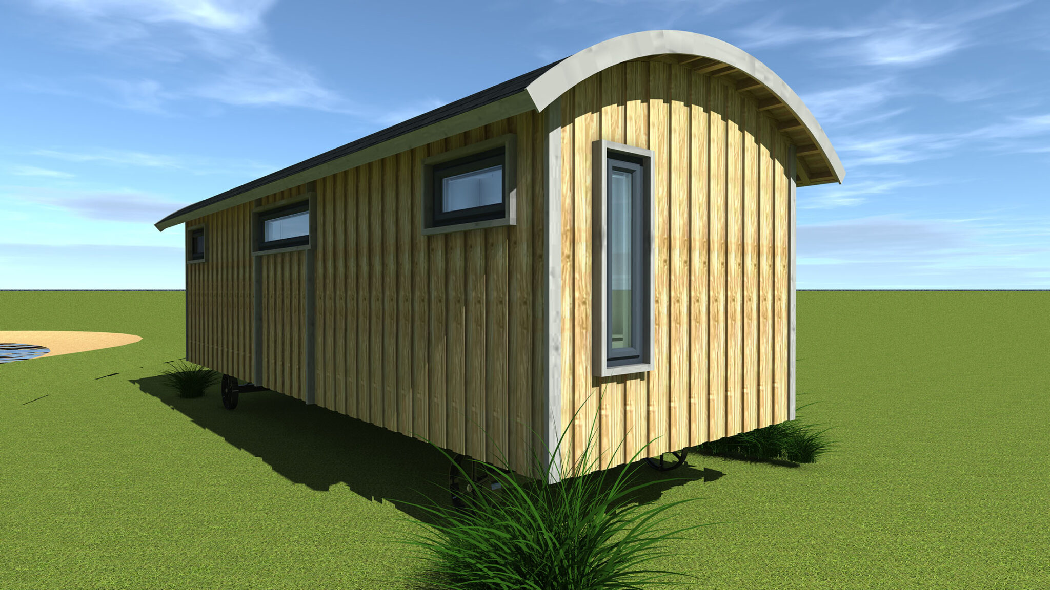 Shepherd Hut Outside