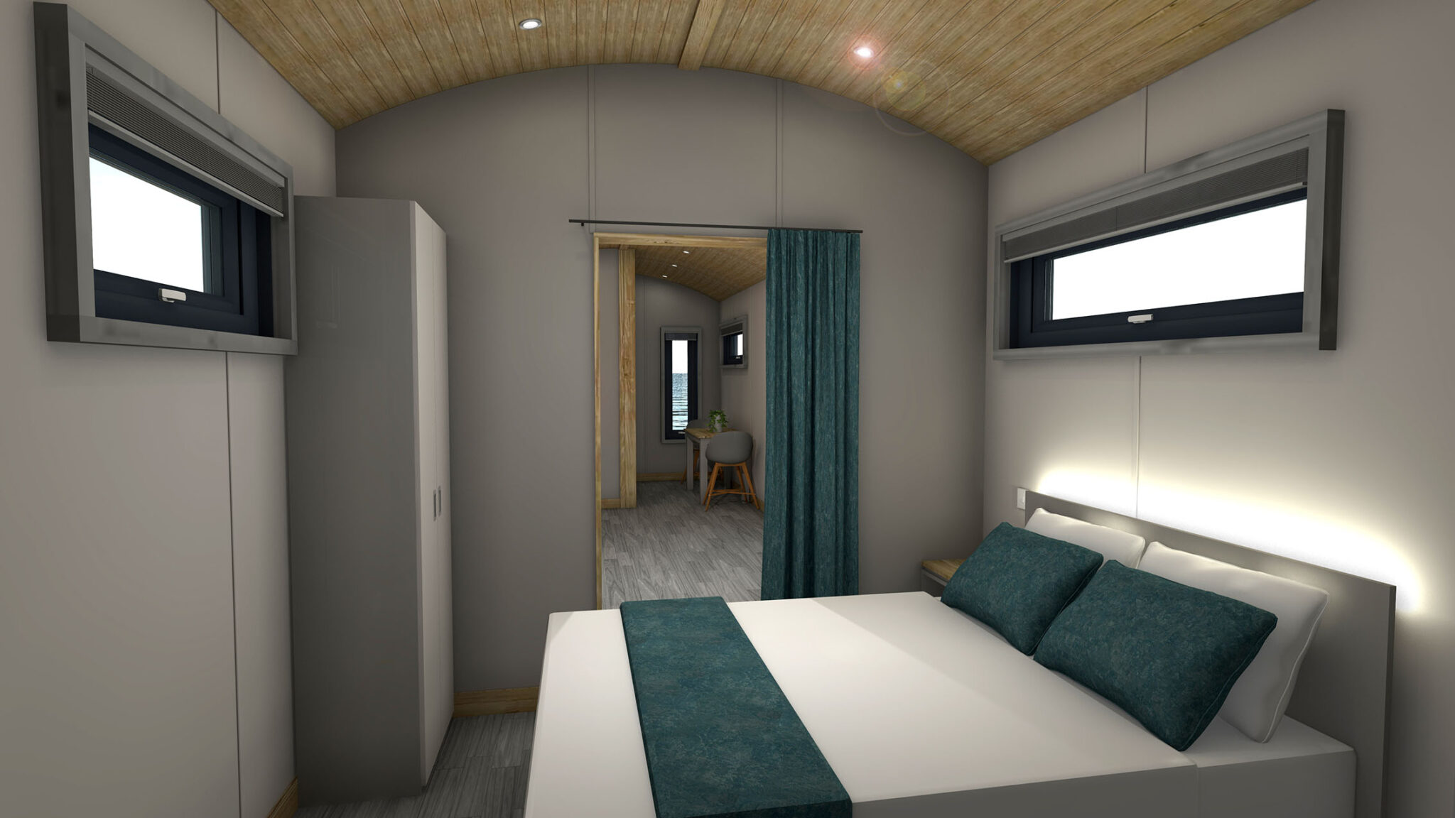 Shepherd Hut Interior 4
